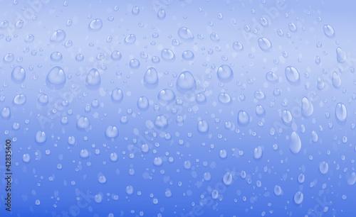 blue water drops