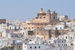 Panoramic view of Ostuni. Puglia. Italy.