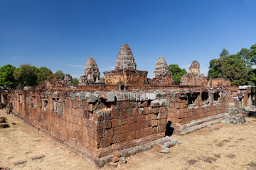 East Mebon temple in Angkor complex