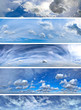 Clouds panorama pack 2