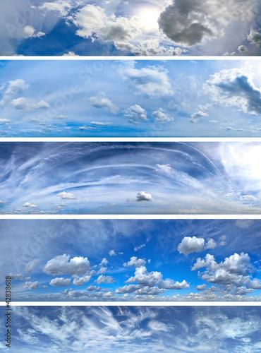 Clouds panorama pack 2