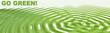 go green header