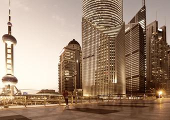 shanghai modern buildings