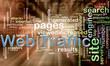 wordcloud of web traffic