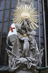 Saint John of Capistrano. Cathedral, Vienna, Austria