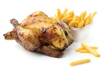 Pollo arrosto intero