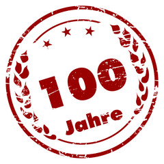 100 Jahre Stempel