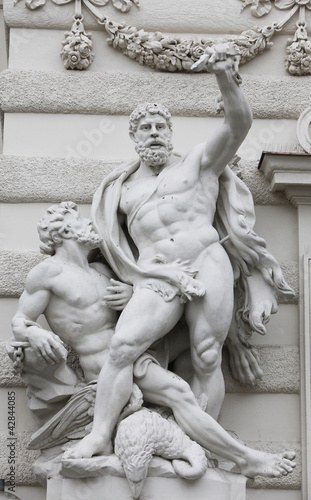 Hercules statue, Hofburg,Vienna, Austria