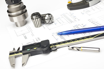 Measuring machining tools
