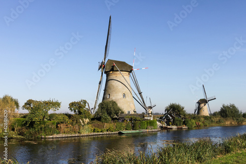 Kinderdijk Windmills in The Netherlands