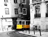 Fototapete Lissabon - Portugal - Eisenbahn