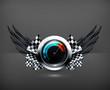 Speedometer emblem
