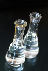 Two rakija glasses