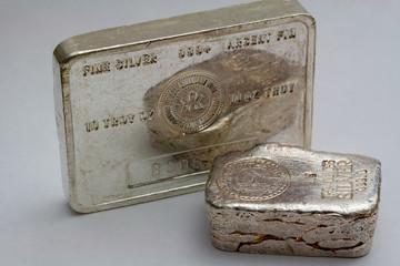 Silver Bullion Bar and Ingot