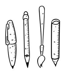writing and drawing  tools
