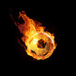 Fussball in Flammen