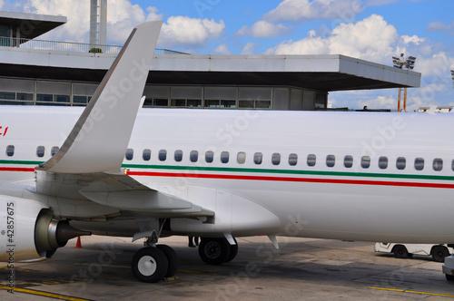 Avion, fuselage et winglet