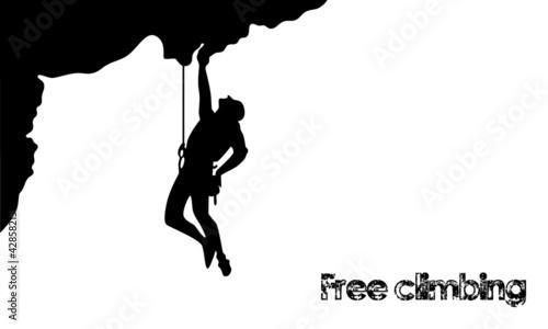 free_climbing_profilo