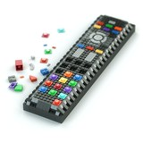 remote control of Lego bricks isolated on white background poster
