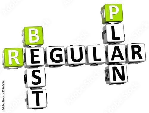 poster of 3D Regular Best Plan Crossword