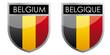 Belgium flag emblem