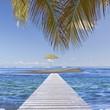 passerelle pour îlot de sable