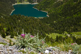 Lake Oredon in French Pyrenees