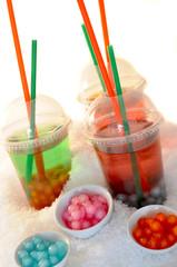Cocktail auf Eis