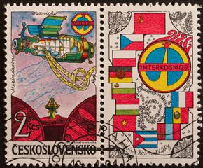 francobollo cecoslovacchia