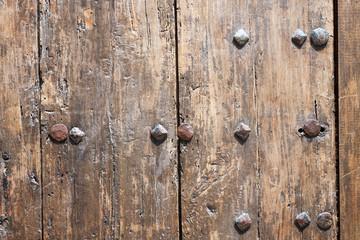 Big wooden door background