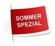 Schild Sommer Spezial