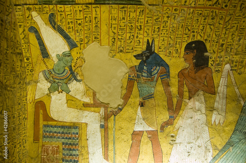 Tomb Painting from Ancient Egypt - 42866017