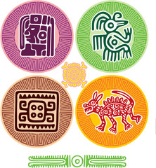 Set of Mexican Design Elements