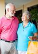 Senior Shoppers In Love