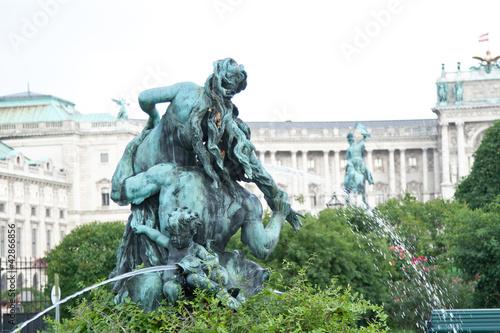 Triton u. Nymphenbrunnen, Wien, Volksgarten