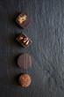 Mignardises aux chocolats