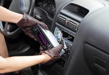 Diebstahl Autoradio
