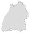 Map of Baden-Württemberg (Germany)