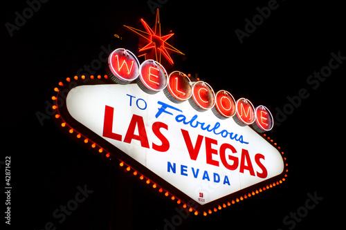 In de dag Las Vegas Welcome to Fabulous Las Vegas