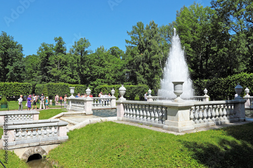 Peterhof Palace garden, St. Petersburg