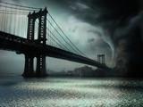 Fototapeta niebezpieczeństwo - sztorm - Widok Miejski