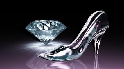 ガラスの靴とダイヤモンド