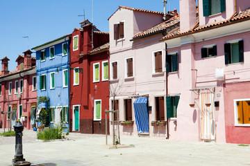 Burano - Venezia - case di pescatori