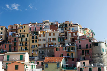 Manarola - one of the cities of Cinque Terre in italy