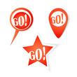 Go! Bubbles. Stickers set