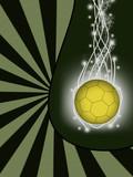 Fototapeta piłka - jasny - Tła