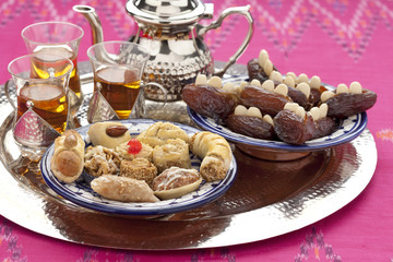 Moroccan high tea