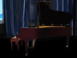 The image of a grand piano