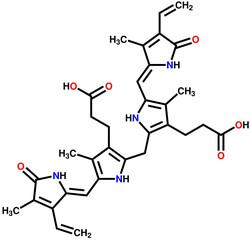 Bilirubin structural formula