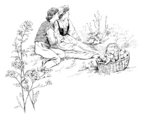 Picnic : Peasant Lovers